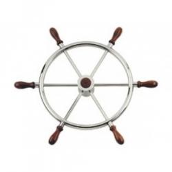 ruota timone in acciaio inox cm.50