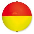 galleggiante scorrevole tondo rosso e giallo