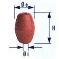 galleggiante B10  per la pesca in pvc espanso a cellule chiuse