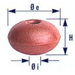 galleggiante L10  per reti in pvc espanso a cellule chiuse